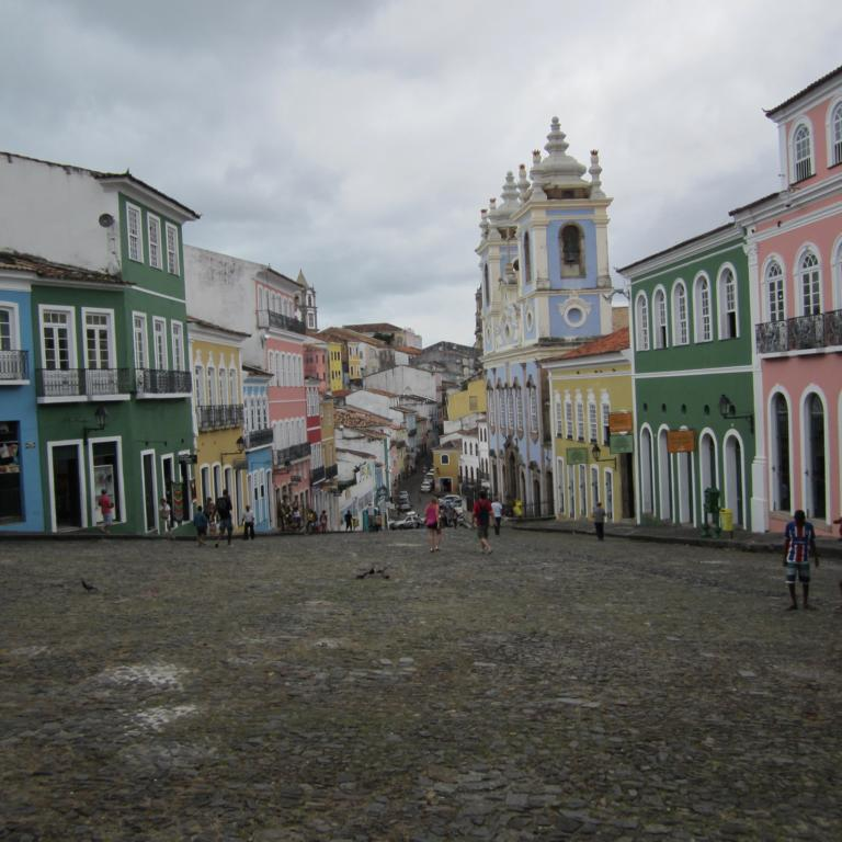Der Pelourinho in Salvador da Bahia