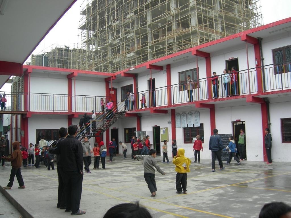 Innenhof der Schule im Strassenkinderhilfswerk NAG