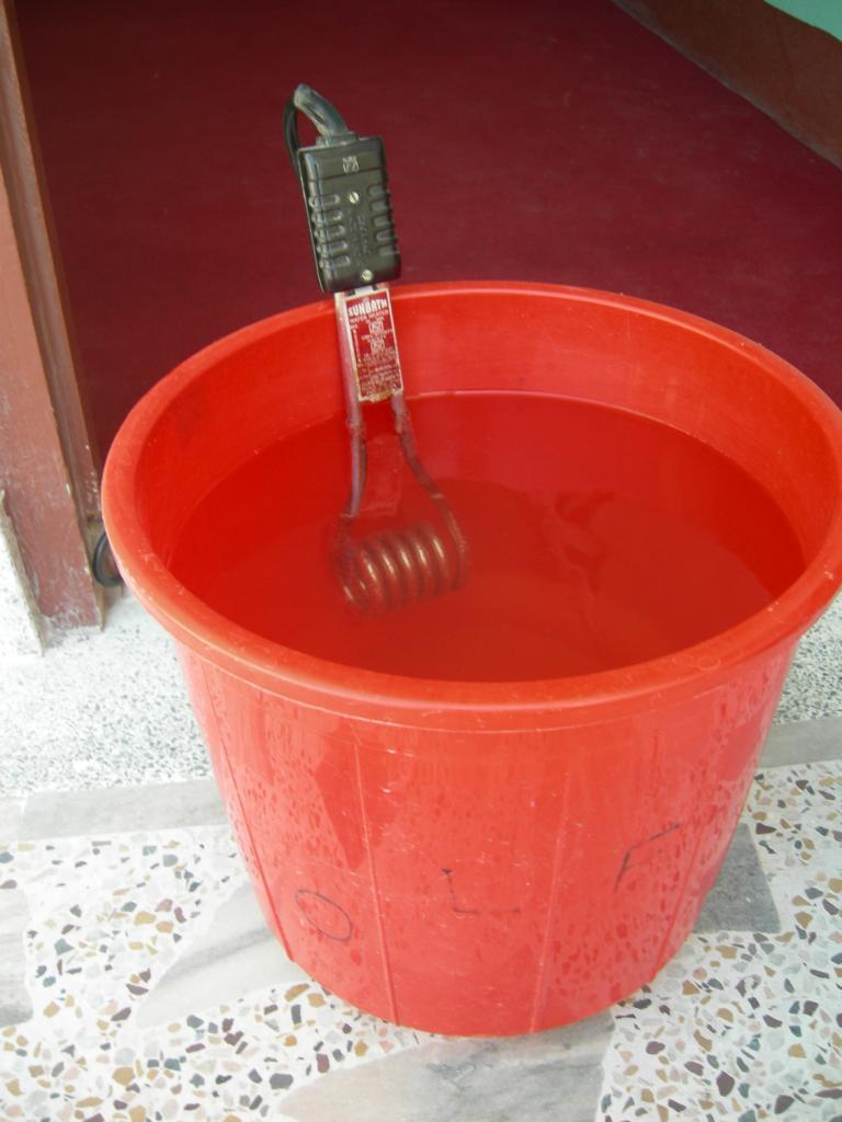 warmes Duschwasser