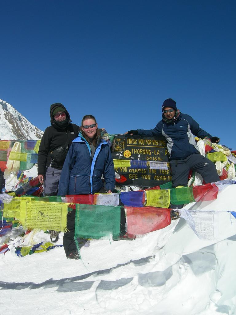 auf dem Annapurna Trek - Der Gipfel