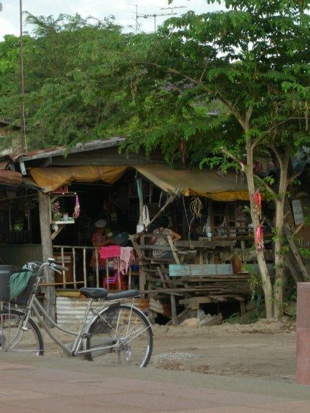 an der Grenze Thailand-Laos