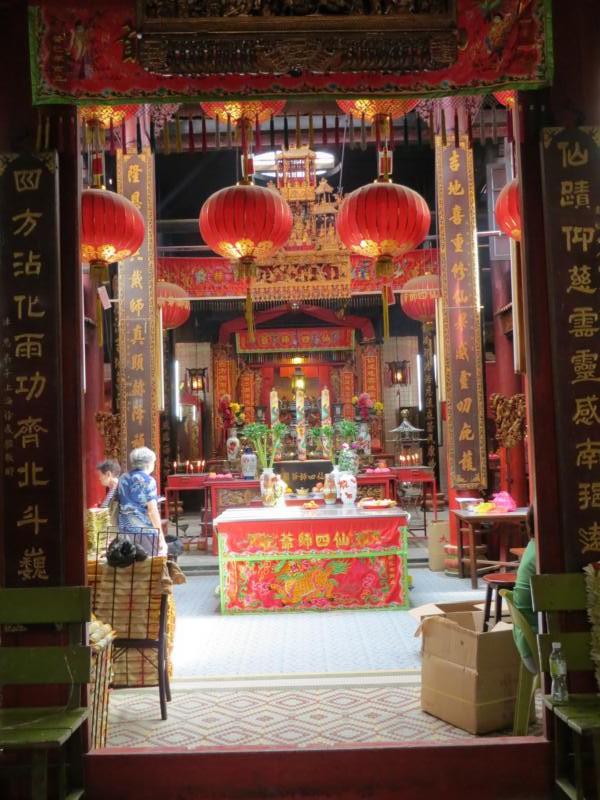 chinesischer Tempel in Kuala Lumpur