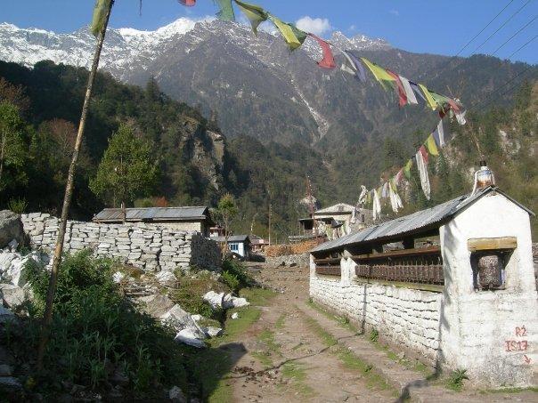 Trekking um die Annapurnas