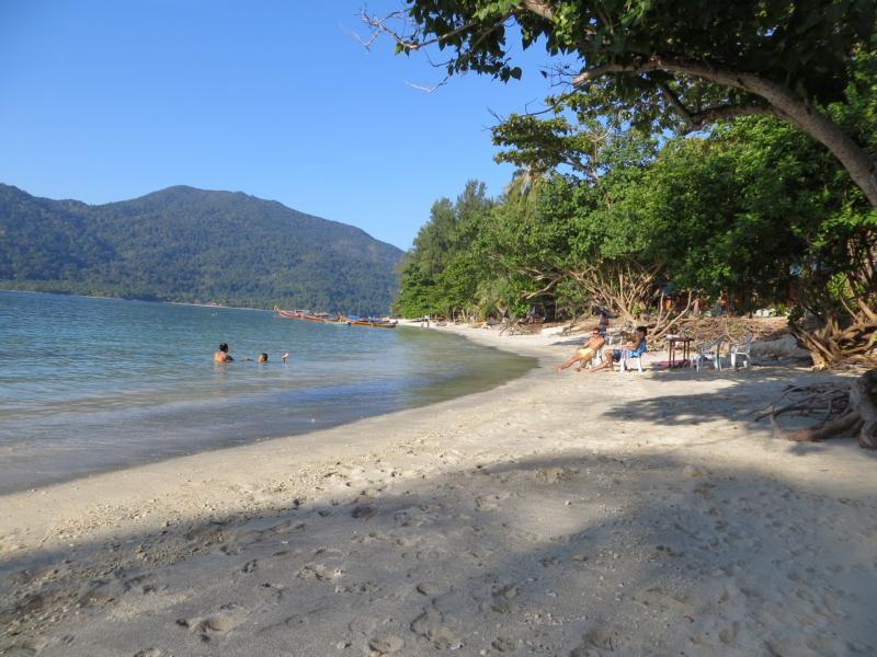 Sunset Beach auf Koh Lipe