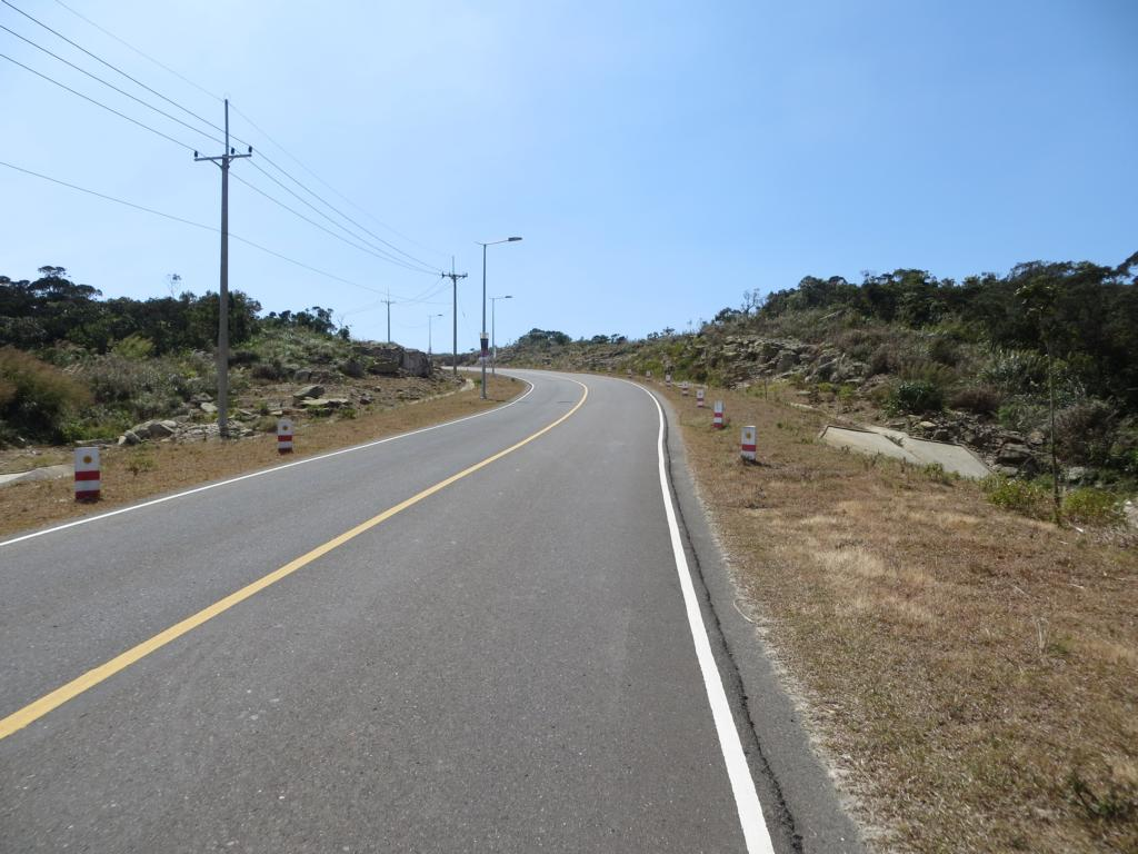 Strasse zur Bokor Hill Station