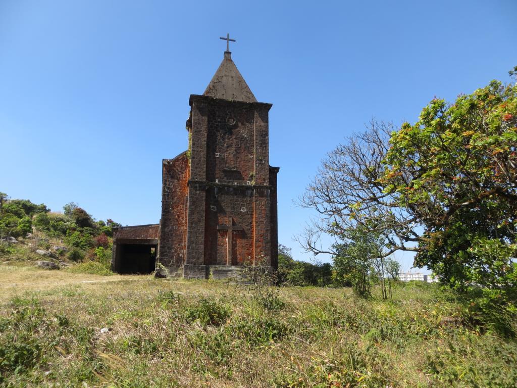 Kirche auf dem Weg zum Bokor Hill