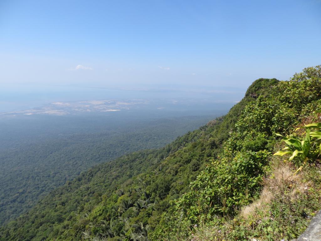 wunderschöne Aussicht von der Bokor Hill Station