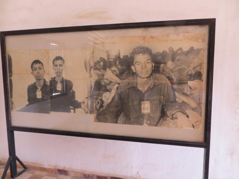 Bilder der Ermordeten im Foltergefängnis S-21