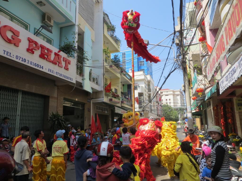 Drachentänze am TET Fest