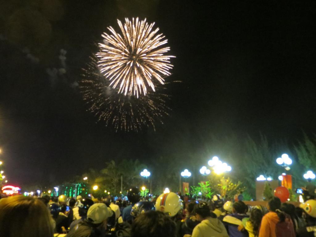Feuerwerk während dem TET Fest