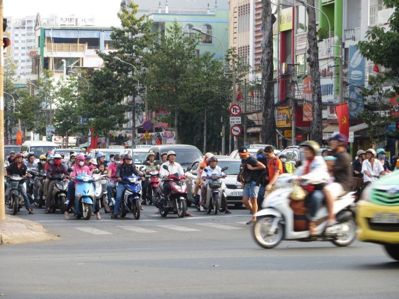 Strassenverkehr in Asien