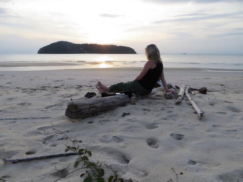 Am Strand von Langkawi, Malaysia