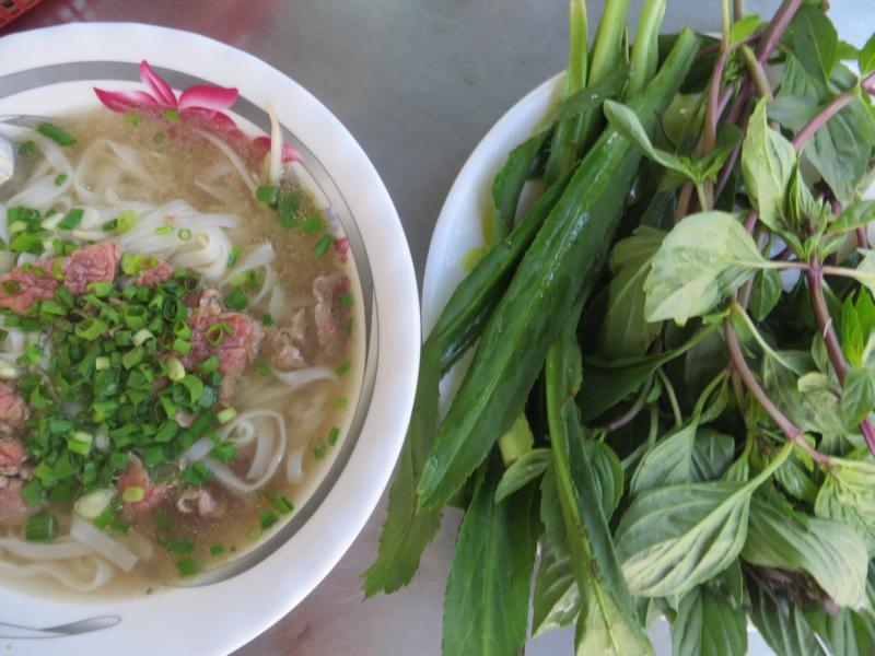 Essen in Hanoi