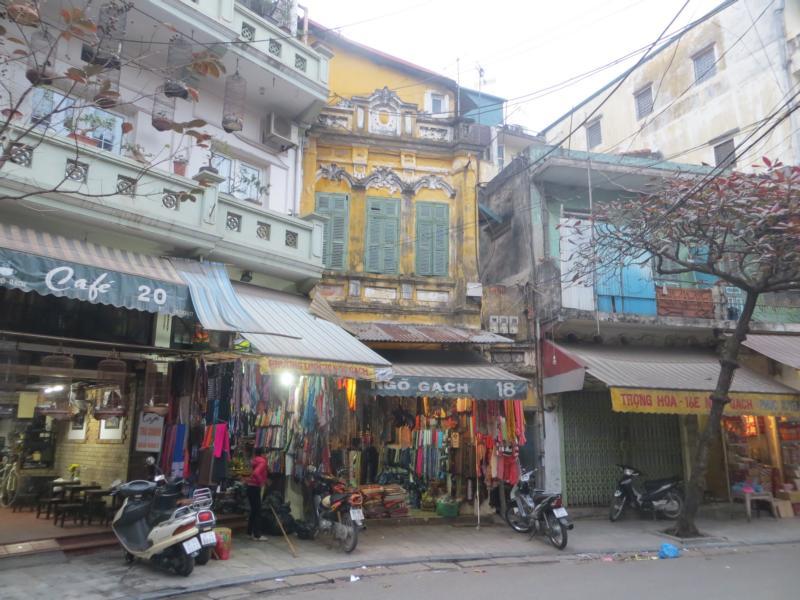 Die Altstadt in Hanoi