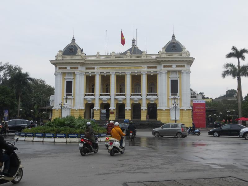 Französisches Viertel in Hanoi