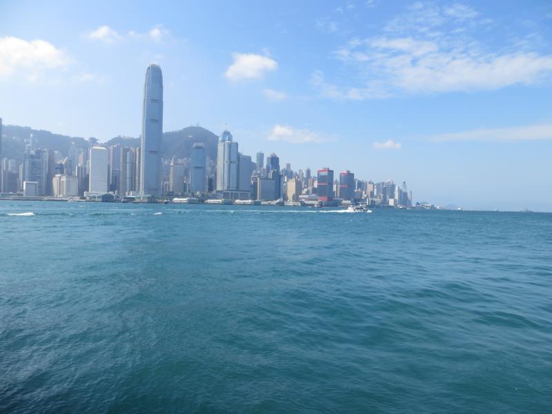 Der Hafen in Hong Kong
