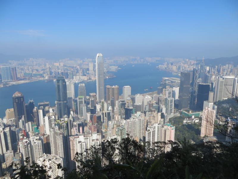 Hong Kong, das Tor zu China und eine von Asiens Megacities