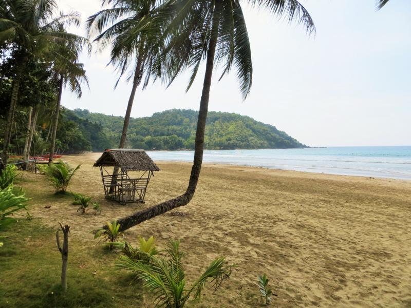 Nagtabon Beach in Palawan
