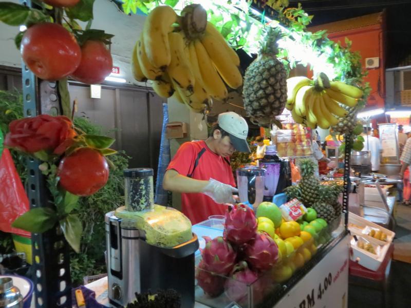 leckere Fruchtsäfte in Südostasien