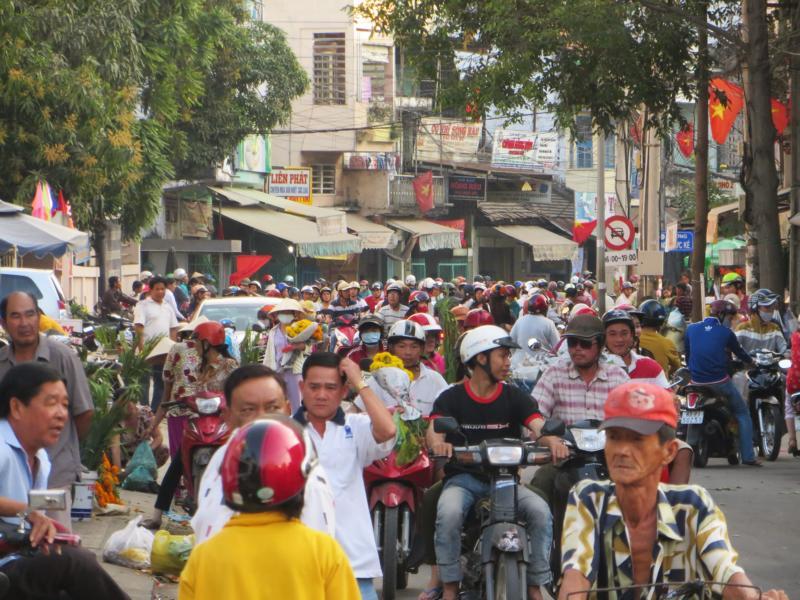 Strassenverkehr in Südostasien