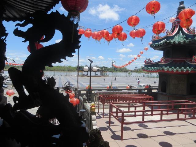 Chinesischer Tempe in Bintulu