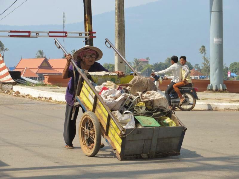 Alltagsszene in Südostasien