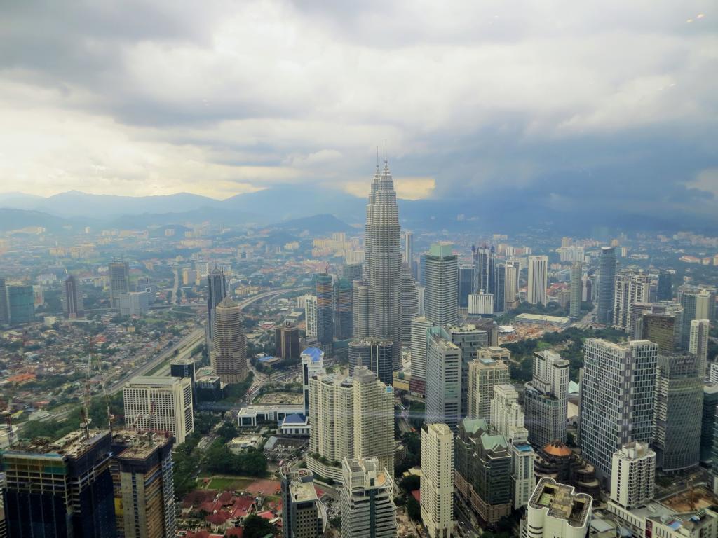 Aussicht vom KL Tower