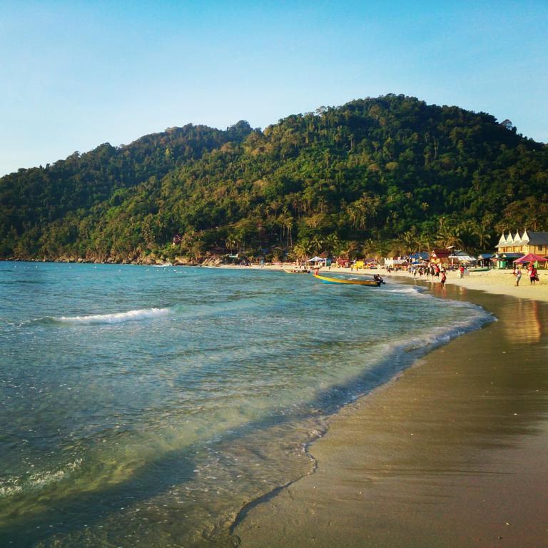 Strand auf Perhentian Kecil