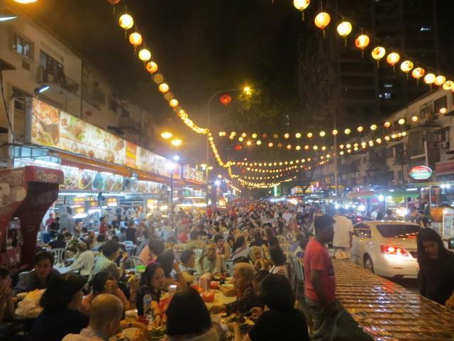 Jalan Alor in Bukit Bintang