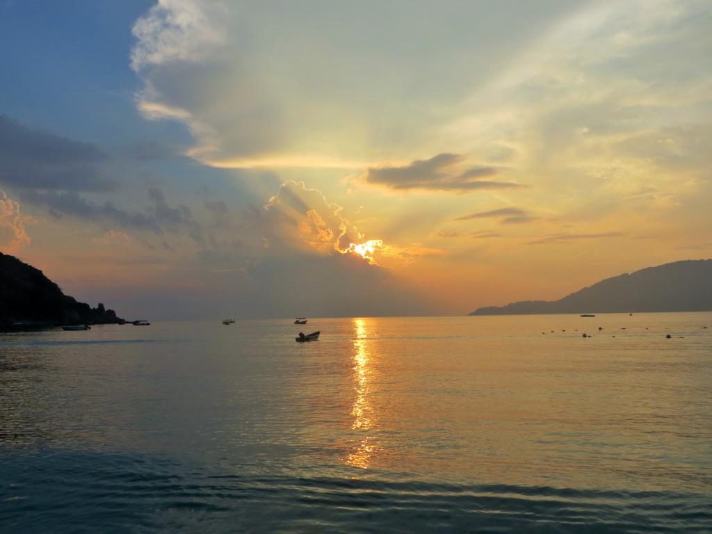 Sonnenaufgang auf den Perhentian Inseln