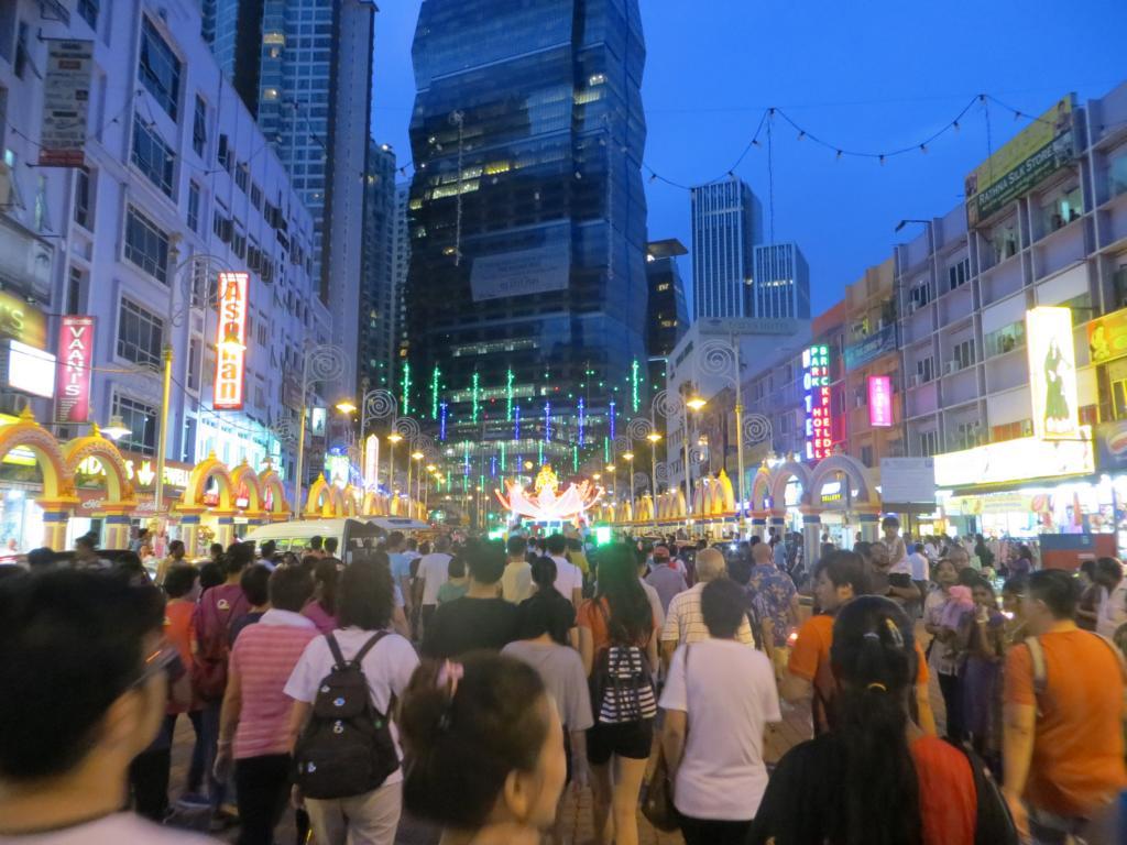 Wesak Day Parade durch Kuala Lumpur
