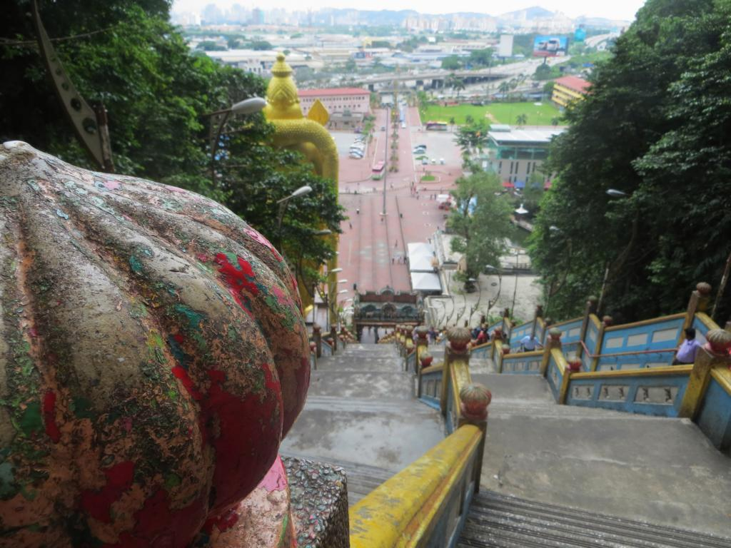 Treppenstufen zu den Batu Caves