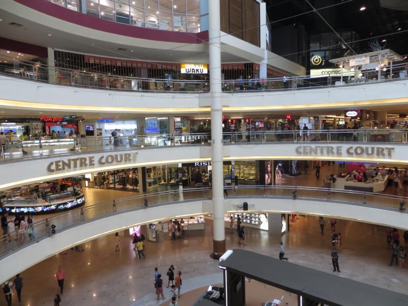 Shoppingmall in Kuala Lumpur