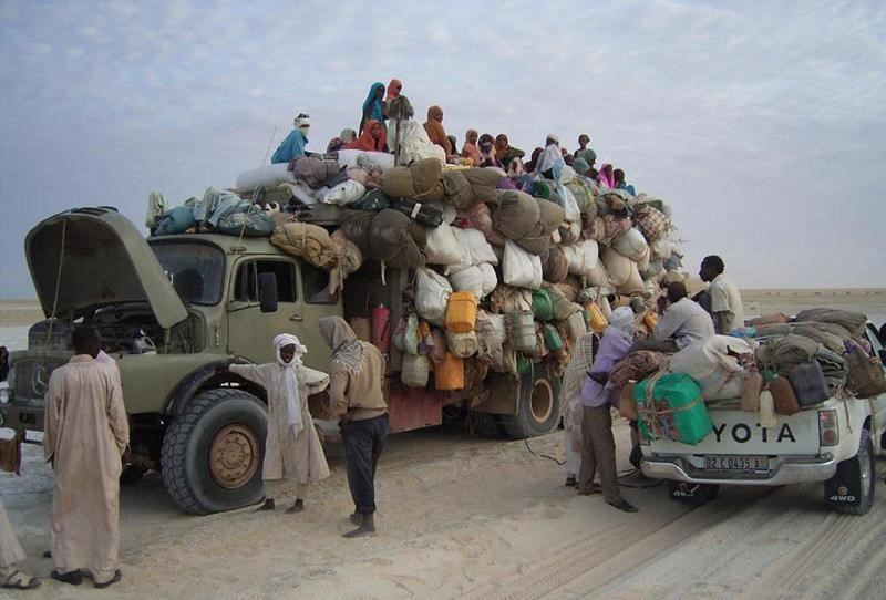Reisen in Tschad ist sehr zeitaufwändig