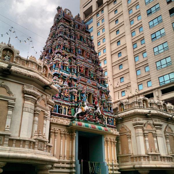 Sri Maha Mariamman Tempel in Kuala Lumpur