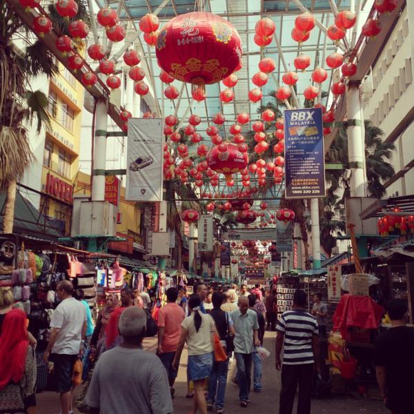 Die Jalan Petaling Kuala Lumpurs Chinatown
