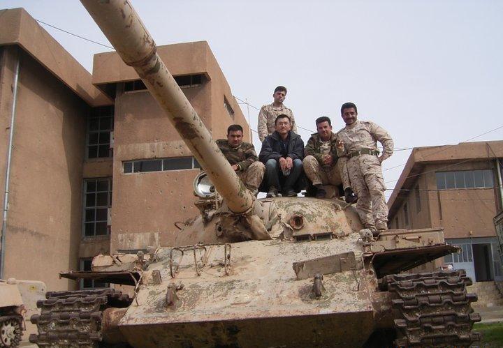 Auf seiner Reise rund um die Welt hat Kenji auch Kurdstan besucht