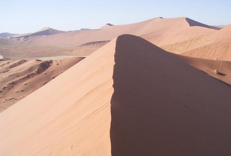 In der Wüste Namibias