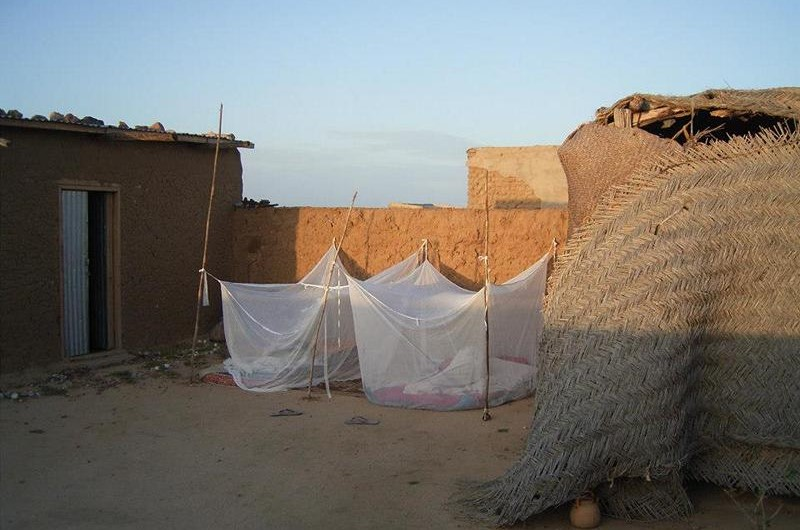 Schlafplatz in Tschad