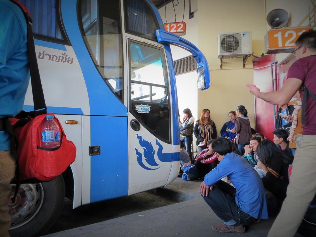Busbahnhof - ein beliebter Platz für einen Diebstahl
