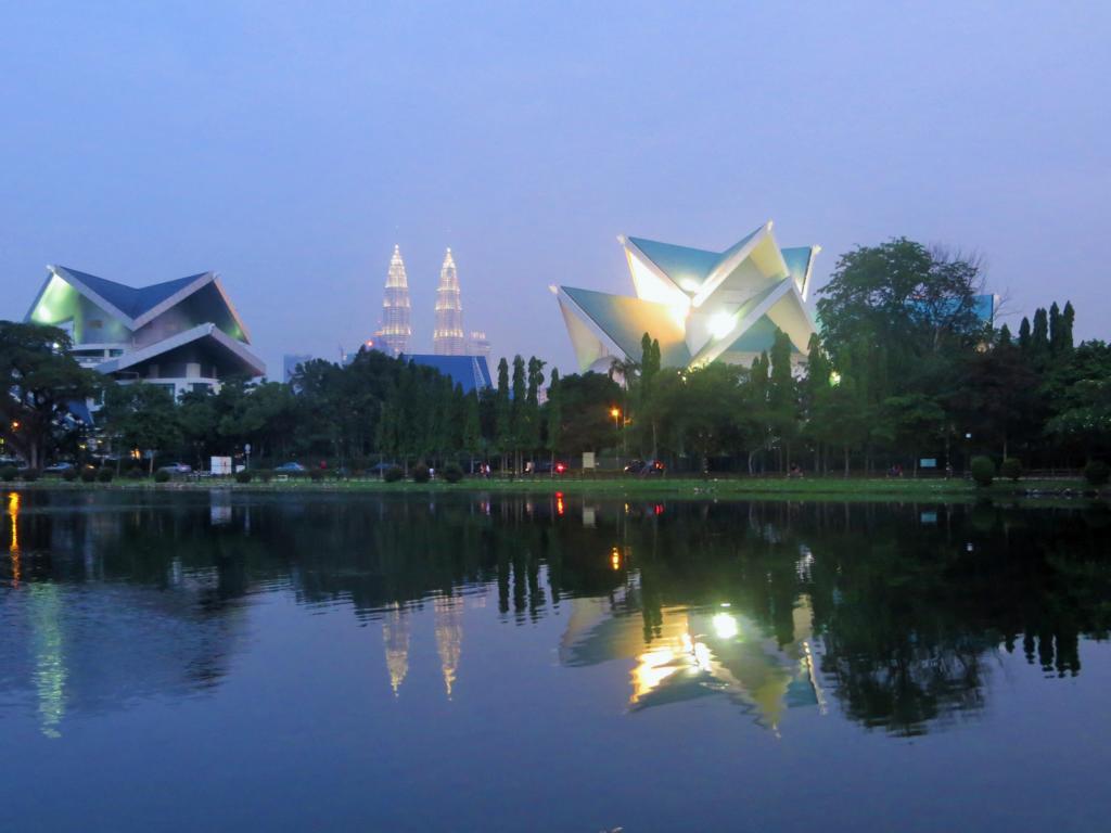 Titiwangsa See in Kuala Lumpur