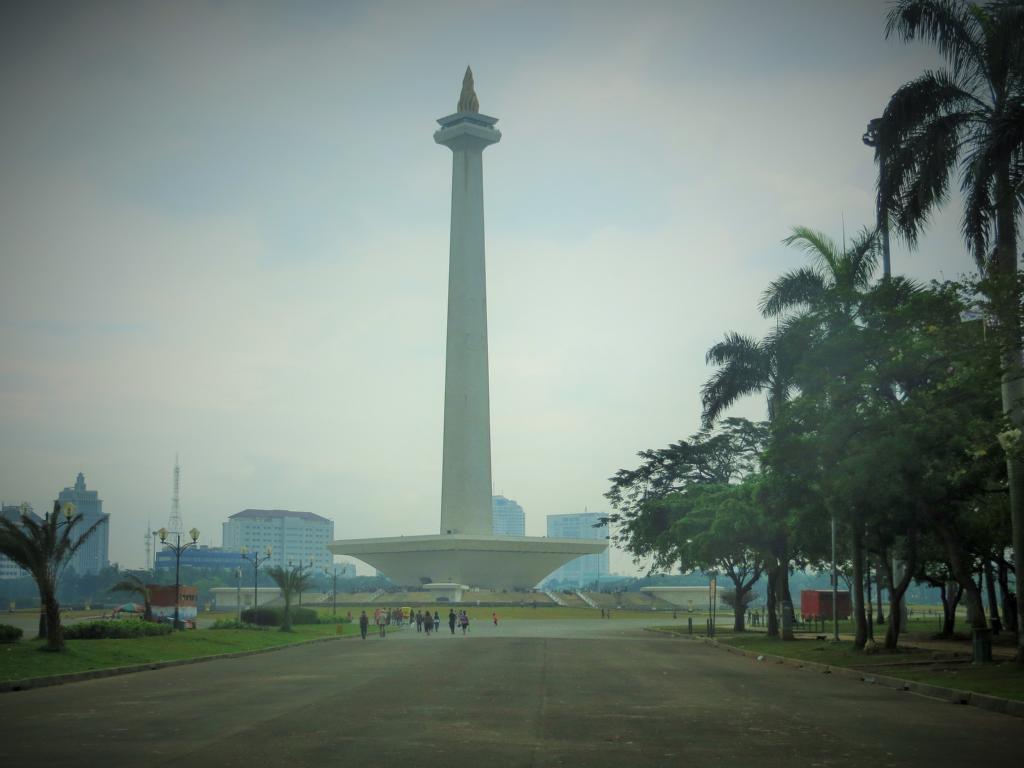 Das Nationaldenkmal in Jakarta