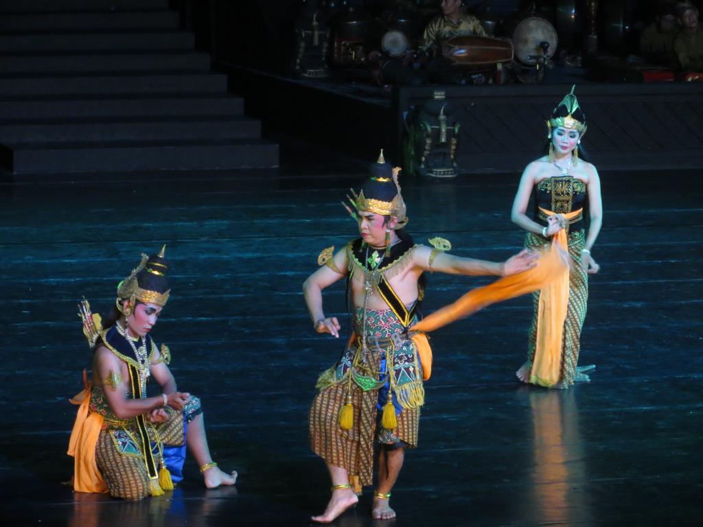 Das Ramayana Ballet beim Prambanan Tempel