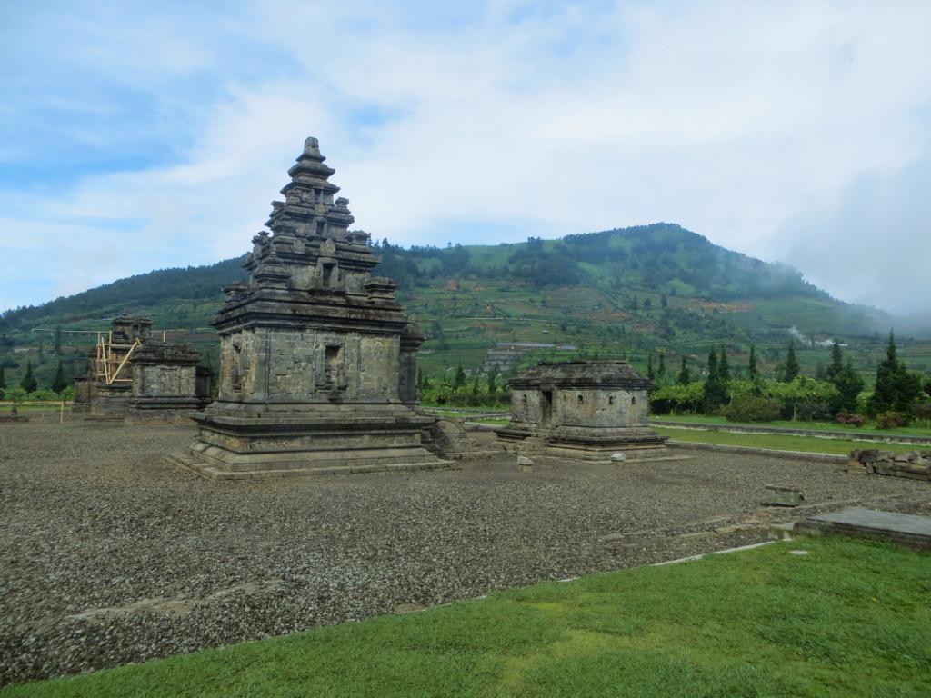 Tempelkomplex auf dem Dieng Plateau