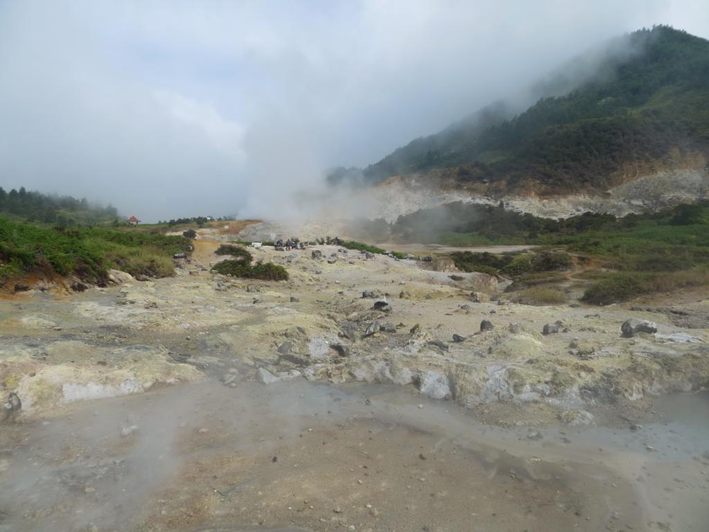 Mondlandschaft beim Sikidang Krater