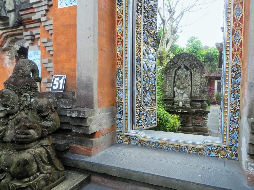 Der bemerkenswerte Baustil in Ubud in Bali