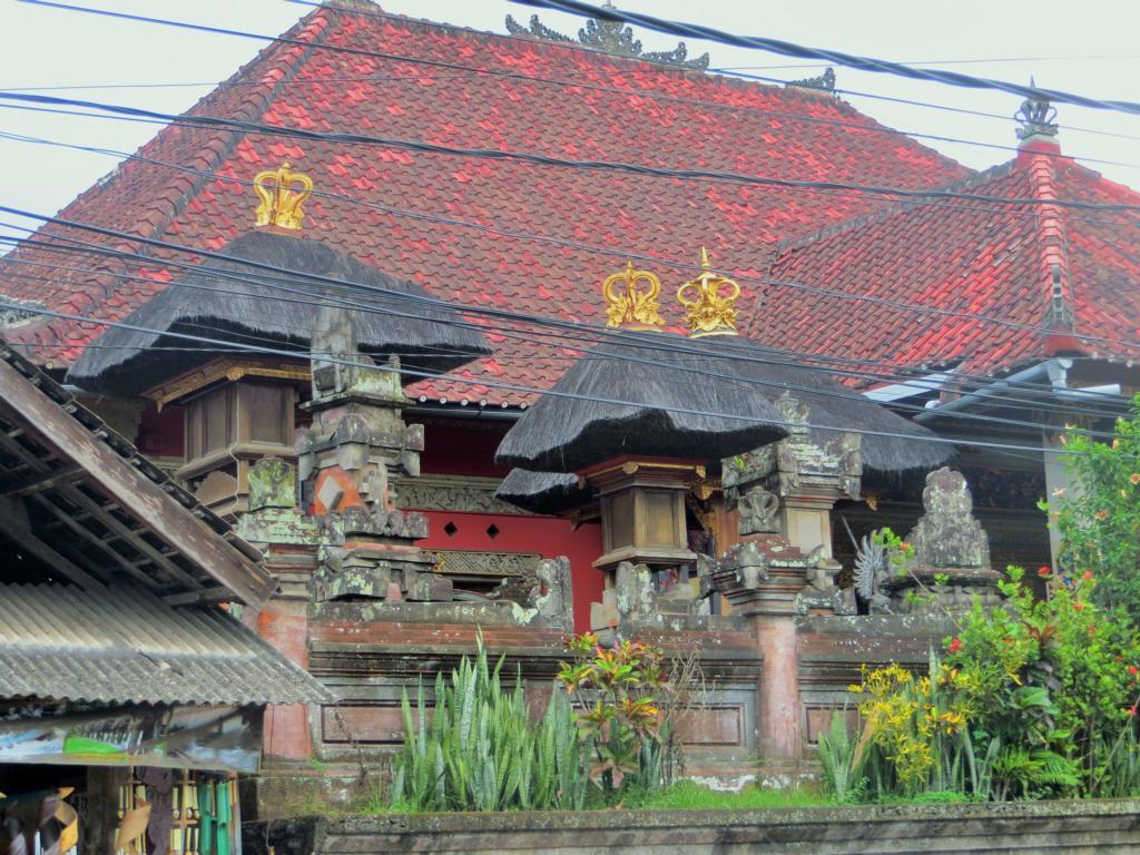 schöner Baustil in Ubud