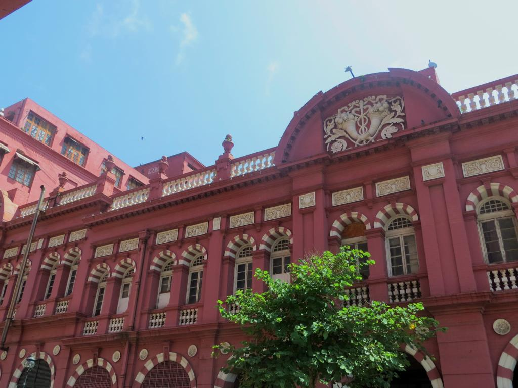 Kolonialgebäude in Colombo