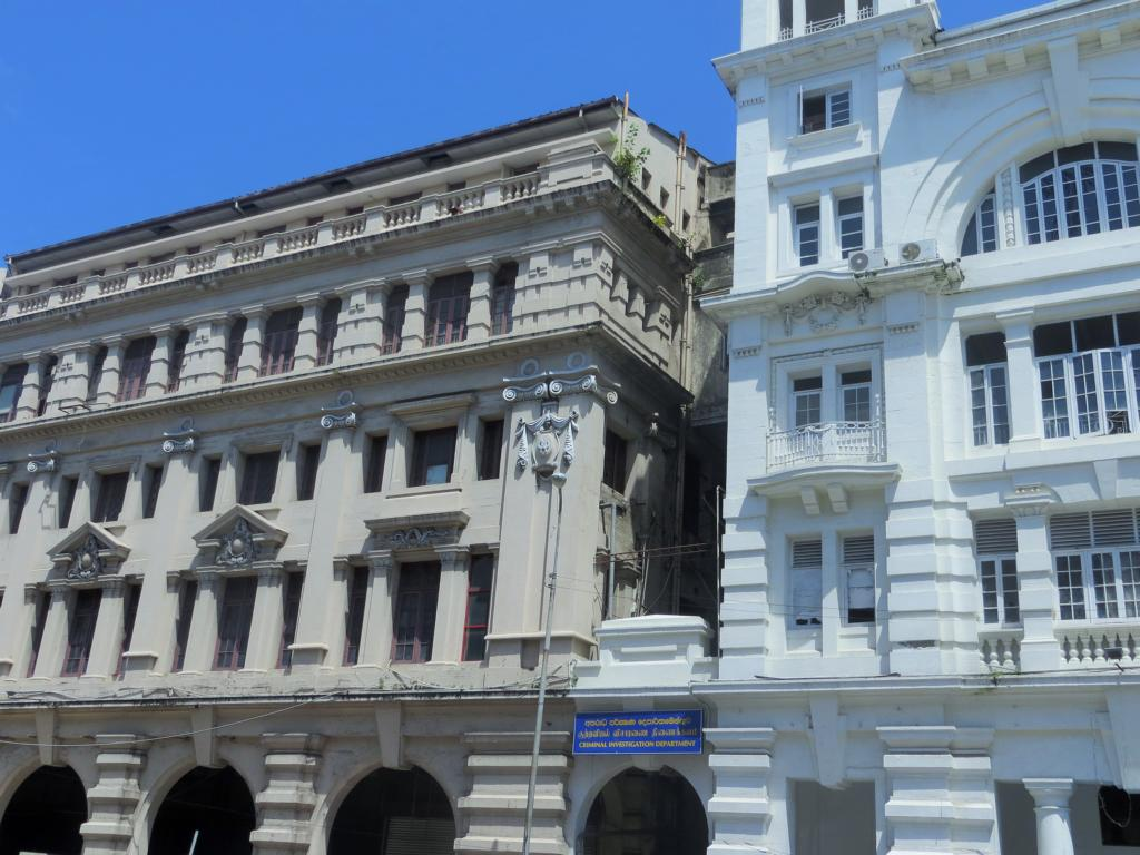 Kolonialbauten in Colombo, Sri Lanka