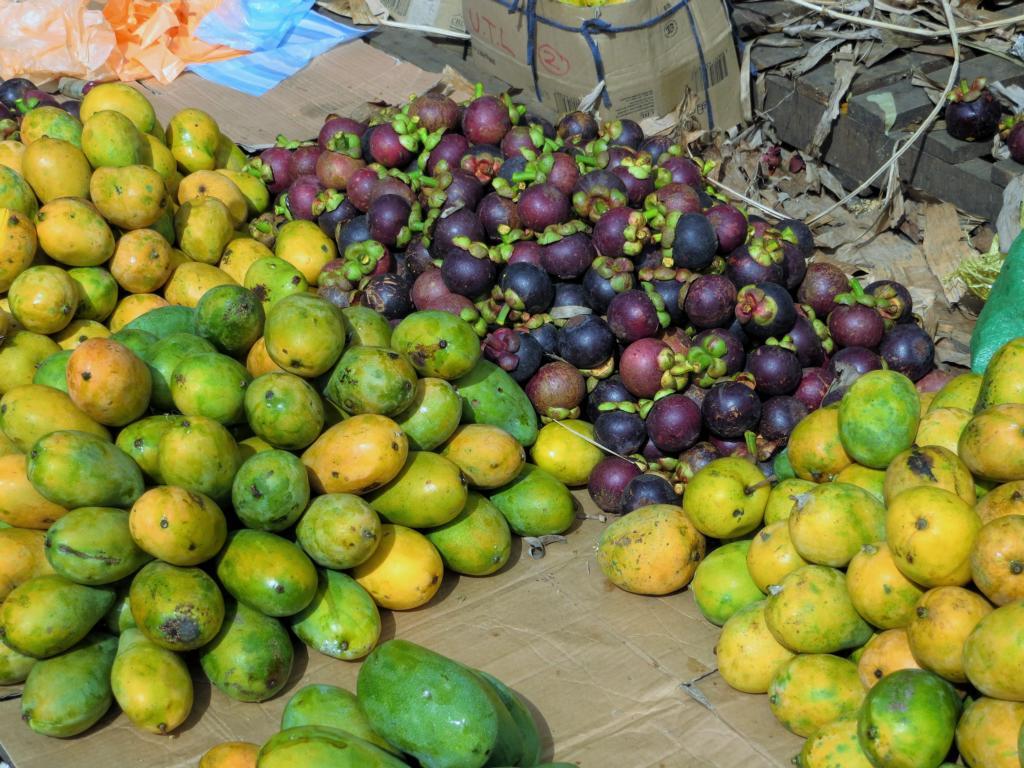 Früchte auf dem Pettah Markt in Colombo